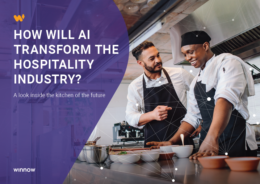How will AI Transform the hospitality industry ebook cover