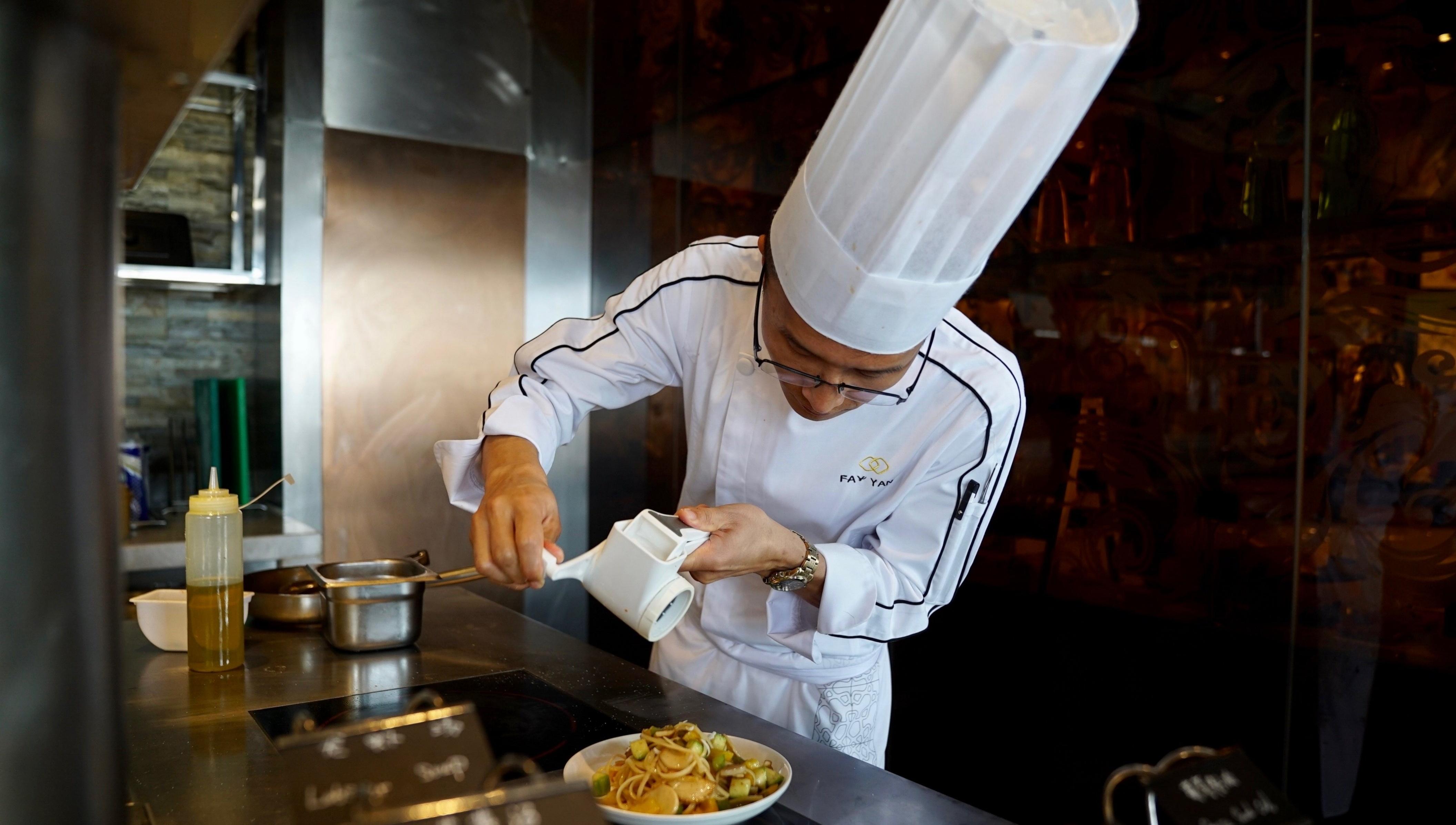 Sofitel Kunming cut food waste