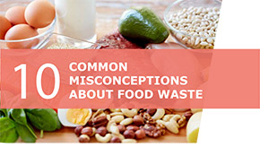 10 common misconceptions about food waste